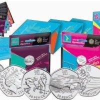 2012年伦敦奥运会纪念币大全套