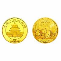 2013年熊猫金银币