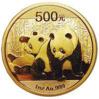 黄金投资藏品熊猫金币的收藏价值