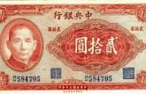 被人们忽视的民国时期纪念钞