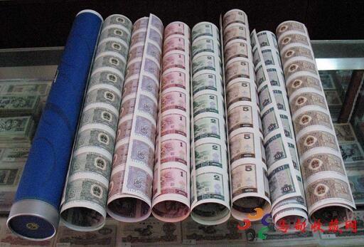 人民币大炮筒收藏行情如何?