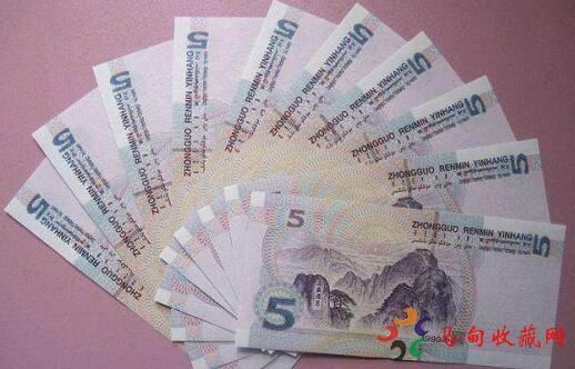 1999年5元人民币现在值钱吗?