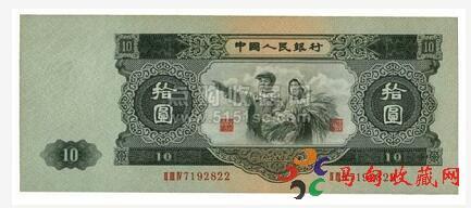 现在1953年10元人民币值多少钱?价格走势如何?