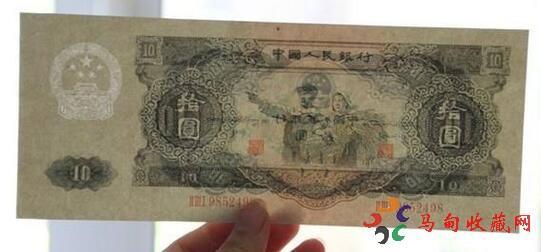 人民币大白边回收价格表