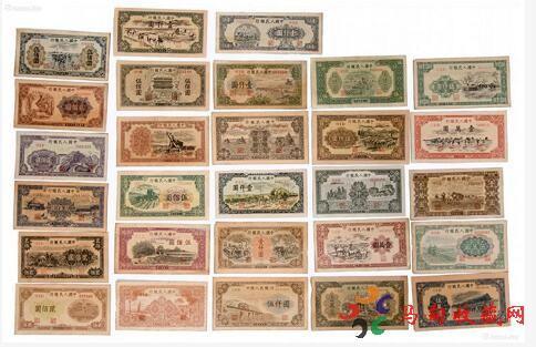 人民币第一套价格