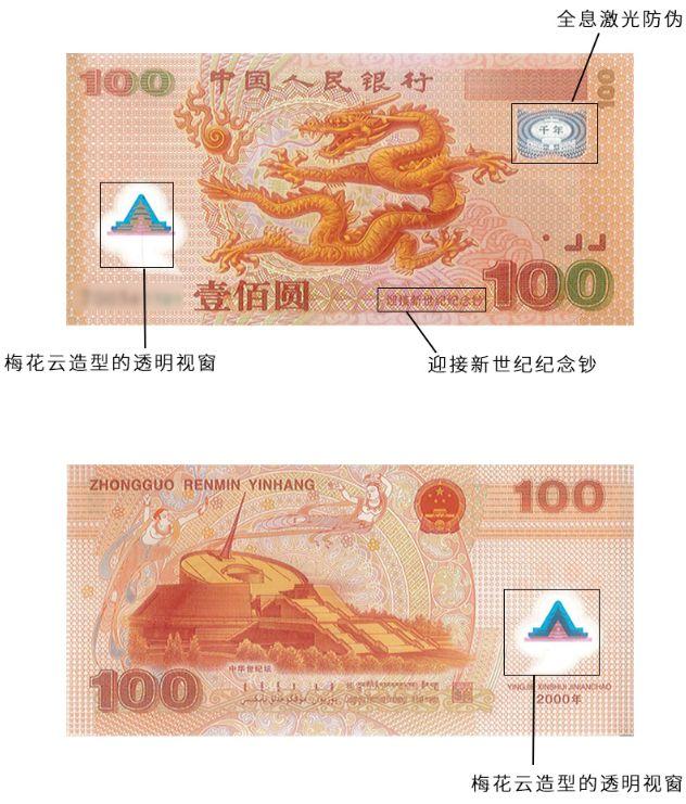 千禧年龙钞100元价格不断上涨中 现在是收藏的好时机!