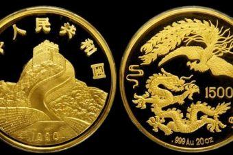 龍鳳呈祥紀念金幣值多少錢