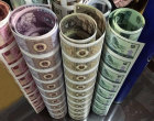 第四套人民币整版连体钞-人民币大炮筒