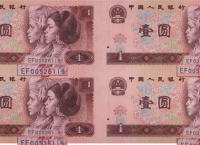 康银阁1元四连体图片欣赏
