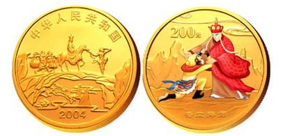 西游记2盎司彩色金币将古典重现,受到众多藏家关注