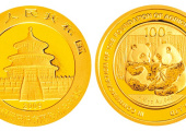 农业银行成立1/4盎司熊猫加字金质纪念币