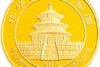 中国熊猫金币发行30周年纪念金币收藏价值