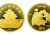 古代名画之子孙和合图金币价格走势  未来是会升值还是会下跌