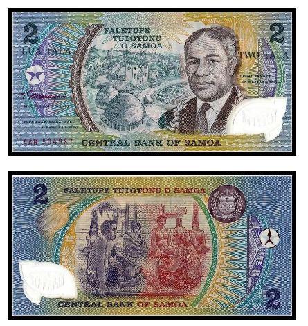 薩摩亞發行太平洋運動會紀念鈔