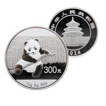 熊貓一公斤銀幣發行數量有限,非常適合投資