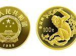 8克第一组珍稀动物金丝猴金币价格还会上涨吗   投资会不会亏本