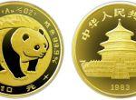 1983年版1/10盎司熊猫金币10元市场价值多少钱