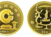 龙的文化纪念金银币1/10盎司金币