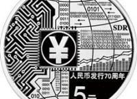 人民币发行70周年15克圆形银币有什么特点 图片赏析