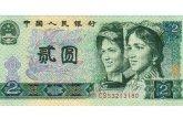 1980年2元纸币价格与存世量之间有什么关系