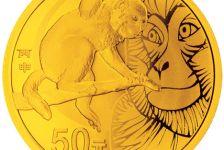 猴年1/10盎司圆形金质纪念币多少钱?猴年1/10盎司圆形金质纪念币接介绍