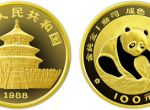1988年版1盎司熊猫金币100元