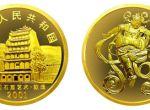 2001年中国石窟艺术唐代长鼓舞图1/2盎司金币收藏价值分析