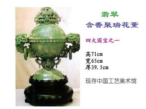 中国四大国宝翡翠长什么样子?中国四大国宝翡翠图片欣赏