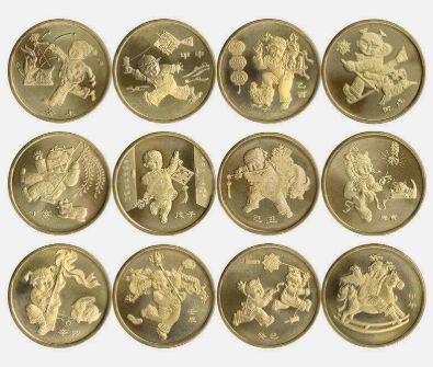首轮生肖纪念币目前市场行情如何?是否有收藏价值?