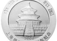 上海银行成立十周年1盎司熊猫加字纪念银币