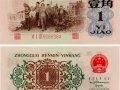 1962年1角人民币价格直线飙升 该如何对背绿水印壹角防伪?