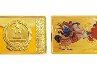 5盎司《水浒传》三打祝家庄第2组长方形彩色金币2010年版收藏价值怎么样