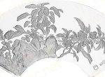 1盎司明清扇画花卉图纪念银币