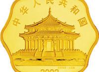 2002生肖馬年1/2盎司梅花形紀念金幣
