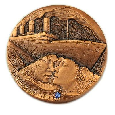 泰坦尼克号铜章有收藏的价值吗