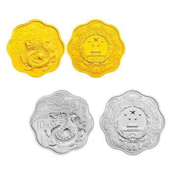 龙年金银币现在价格比较低,非常适合买入