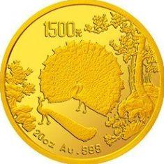 孔雀开屏金银纪念币背后的故事,你知道吗?