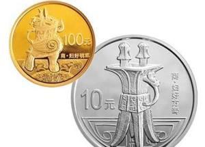第2组青铜器金银纪念币近期价格下跌,市场表现不尽人意