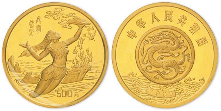 黄河系列第二组金银币背后的发行意义,其价值分析
