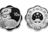 1公斤梅花形兔年生肖金币市场价值分析  目前市场价格是多少