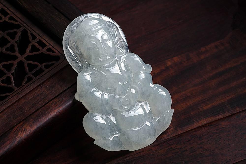 糯冰种翡翠