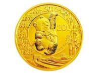 熊猫金币发行三十周年5盎司银币图片及价格