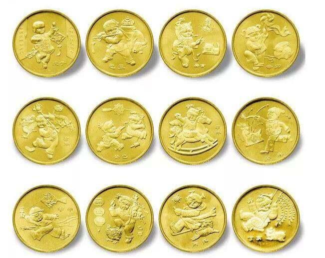 普通生肖紀念幣風靡全球,成爲收藏市場中的精品藏品