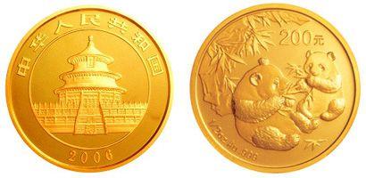 1/2盎司熊猫金币2006年版有什么收藏价值