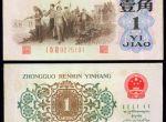 背绿水印壹角是第几套人民币