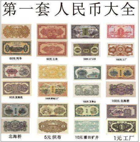 第一套人民币,你涨够了没有