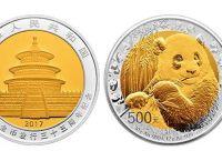 熊猫金币发行三十五周年双金属币收藏价格  最新价格表