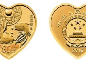 心形金银币吸引众多藏家,在市场上优势明显